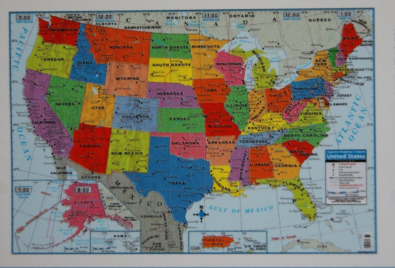 "Teaching Tree United States Wall Map - 40"" x 28"""