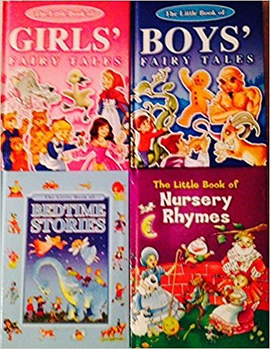 The Little Book of ... Boys' Fairy Tales, Girls' Fairy Tales, Bedtime Stories, & Nursery Rhymes