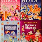 The Little Book of ... Boys' Fairy Tales, Girls' Fairy Tales, Bedtime Stories, & Nursery Rhymes