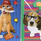 Hardcover Executive Notebooks - Puppy Dog Journal Set: 2 Dog Journals - Books with Moving Eyes - v2