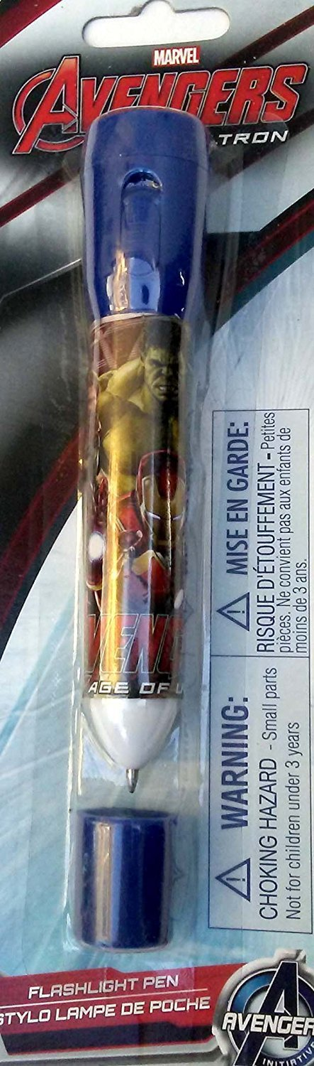 Marvel Avengers Age of Ultron - Mini LED Flashlight with Pen 2 in 1