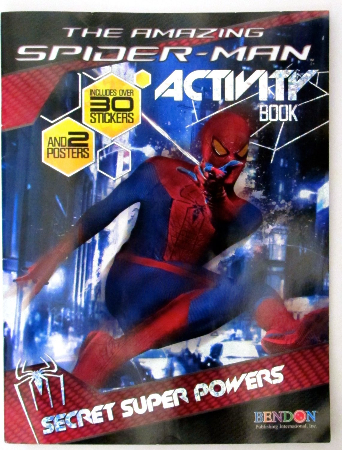 The Amazing Spider-man Activity Book: Secret Super Powers