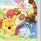 Winnie the Pooh Big Fun Book to Color ~ A Pile of Friends