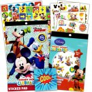 Mickey Mouse Stickers & Tattoos Party Favor Pack (200 Stickers & 50 Temporary Tattoos)