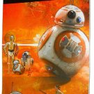 Star Wars The Force Awakens 5-Page Sticker Book with 125 Stickers