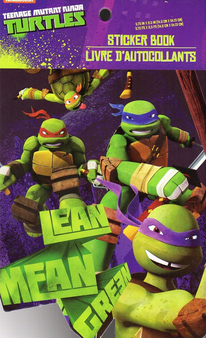 Teenage Mutant Ninja Turtles - 5-Page Sticker Book