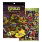 Teenage Mutant Ninja Turtles 270 Sticker Book by Nickelodeon