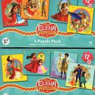 Elena Of Avalor - 4 Puzzle Pack - 12 Piece Jigsaw Puzzle - (Bundle of 2 - 4 Puzzle Packs) - v1