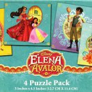 Elena Of Avalor - 4 Puzzle Pack - 12 Piece Jigsaw Puzzle  - v5