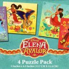 Elena Of Avalor - 4 Puzzle Pack - 12 Piece Jigsaw Puzzle  - v2