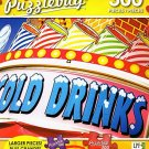 Cold Drinks Refreshment Sign - 300 Piece Jigsaw Puzzle Puzzlebug