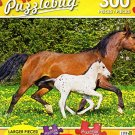 Knabstrupper Mare and Foal - 300 Piece Jigsaw Puzzle Puzzlebug