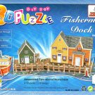 Fishermen Dock - 3D Puzzle - Assembly Model Puzzle Kit