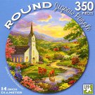 Serenity by Rosanne Kaloustian - 350 Piece Round Jigsaw Puzzle