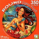 Silvery Moon by Kat Reeder - 350 Piece Round Jigsaw Puzzle