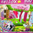 Laundry Day - Art Box - 500 Piece Jigsaw Puzzle