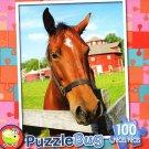 Farm Horse - PuzzleBug - 100 Piece Jigsaw Puzzle