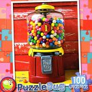 Bubblegum Machine - PuzzleBug - 100 Piece Jigsaw Puzzle
