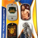 WWE Wrestlers I.D. Dog Tags Series 1 - Set of 3 I.D. Tags - v2