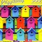 Rows of Colorful Birdhouses- 300 Piece Jigsaw Puzzle Puzzlebug