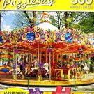 Colorful Carousel in the Park - 300 Piece Jigsaw Puzzle Puzzlebug