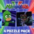 PJ Masks - 4 Puzzle Pack - 12 Piece Jigsaw Puzzle  - v1