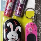 The Secret Life of Pets - Key Chain Mirror Tin 2 Pack Lip Balm Stocking Stuffers