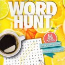 Large Print Word Hunt - All New Puzzles - (2016) - Vol.31