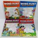 Beginner Word Hunt Bundle 4 Books - Phonics Finder, Puzzle Phonics, First Phonics, Fun Phonics