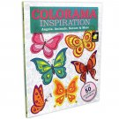Colorama Decoration and Inspiration Angels, Animals, Nature & More Coloring Book
