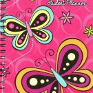 2017 - 2018 Student Planner Calendar (Butterfly) - School College Weekly / Monthly Agenda