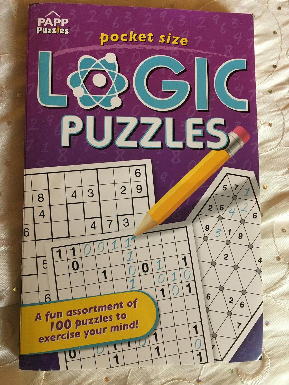 PAPP Pocket Size Logic Puzzles ( Purple )