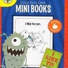 Color Your Own Mini Books - Educational Reproducible Workbook - Grades 1