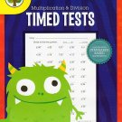 Multiplication and Division - Reproducible Timed Test Workbook - Grades 3