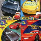 Disney Pixar - Cars 3 - Color and Play Coloring And Activity Book - (Set of 4 books) v2
