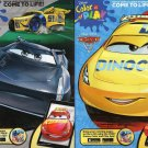Disney Pixar - Cars 3 - Color and Play Coloring And Activity Book - (Set of 2 books) v2
