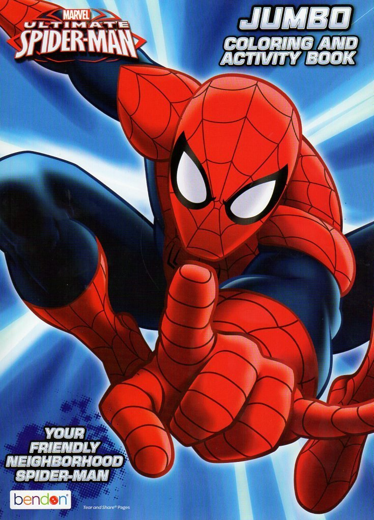 Marvel Ultimate Spider-Man Jumbo Coloring & Activity Book