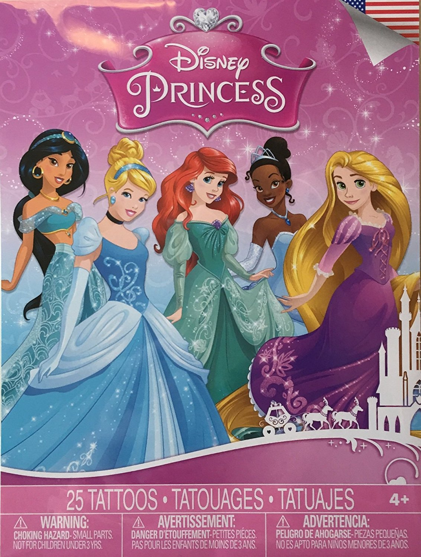 Disney Princess Temporary Tattoos ~ 25 ct