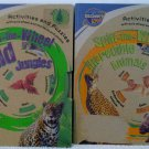 "2 Book Lot from Discovery Kids ""Spin the Wheel """