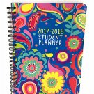 Student Planner Colorful 2017-2018 Different Designs (Flowers)