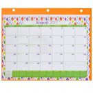 School Calendar 2017-2018 Student Fashion Binder 12 Months (Orange)