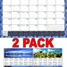 2017 - 2018 12 Months Student Calendar / Planner -  (Edition #4) + Bonus 2018 Magnetic Calendar