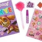 Paw Patrol Girls 7 piece Diary set Set