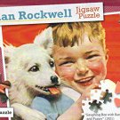Norman Rockwell - Laughing Boy with Sandwich and Puppy - 500 Piece Jigsaw Puzzle