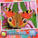 Pretty Peacock Butterfly - PuzzleBug - 100 Piece Jigsaw Puzzle - v2