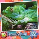 Plumed Basilisk Lizard - PuzzleBug - 100 Piece Jigsaw Puzzle - v2