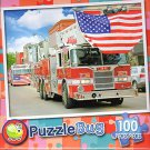 Fire Truck Parade - PuzzleBug - 100 Piece Jigsaw Puzzle