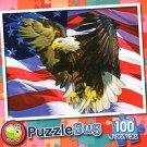 American Eagle - PuzzleBug - 100 Piece Jigsaw Puzzle