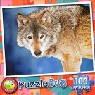 Wild Wolf - PuzzleBug - 100 Piece Jigsaw Puzzle