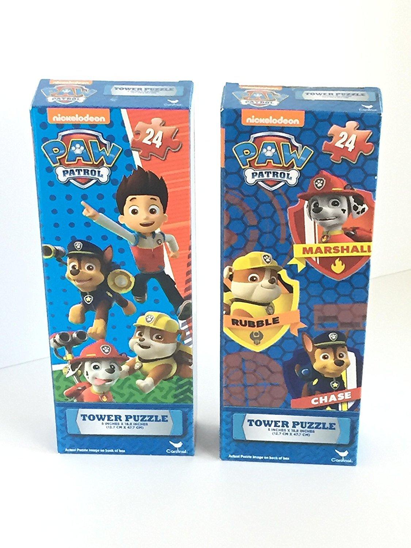 Nickelodeon Paw Patrol Tower Puzzle 2-Pack